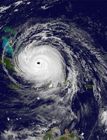 Irma Hurricane storm