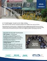 UPC Flood Insurance Flyer