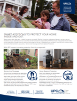 UPC Service Line Coverage Brochure Thumbnail