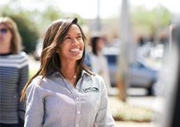 Female UPC Employee