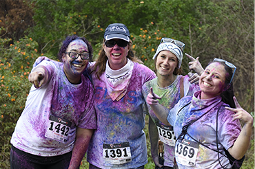 UPC Benefits Team Outing at the 5K Color